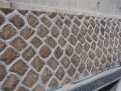 石積接着補強工事