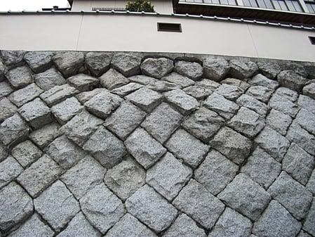 石積み壁補強工事